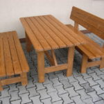 Meble ogrodowe drewniane